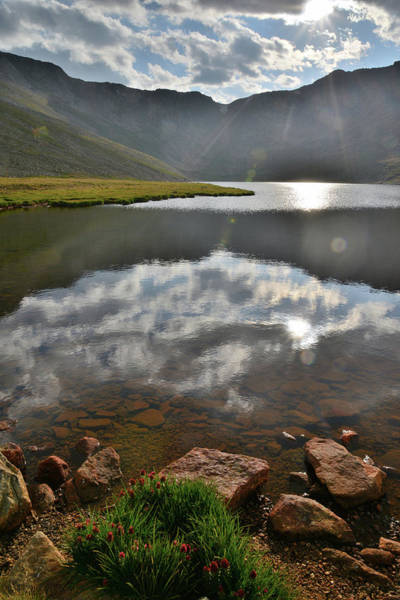 Photograph - Summit Lake Sunset Along Mt. Evans Highway by Ray Mathis