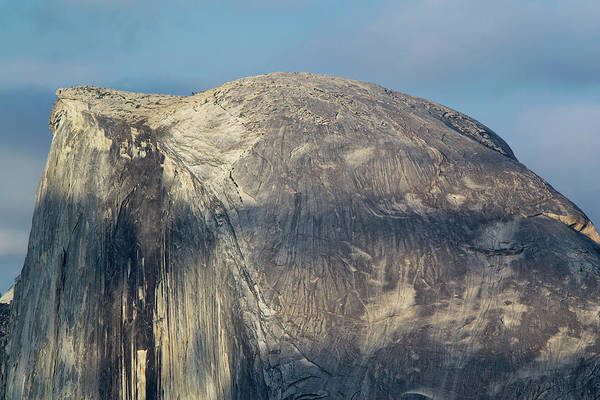 Bald Rock Dome Photograph - Summit Of Half Dome - Yosemite National Park by Brendan Reals