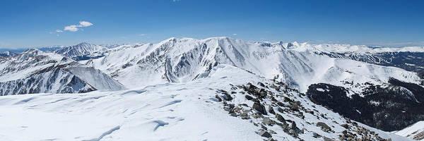 Wall Art - Photograph - Summit Panorama - Mt. Guyot by Aaron Spong