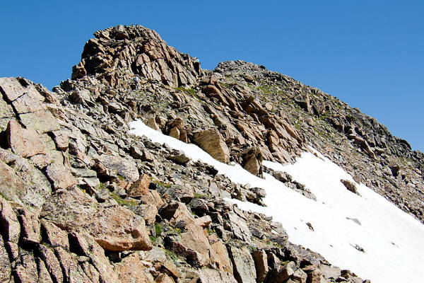 Photograph - Summiting The Mount Massive Summit by Steve Krull