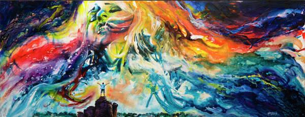 Wall Art - Mixed Media - Summoning Anima by Ken Meyer