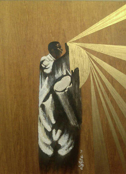 Summoning Painting - Summoning The Spirits by Jerome White