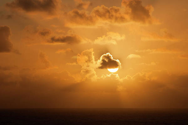 Photograph - Sun And Clouds by Robert Potts