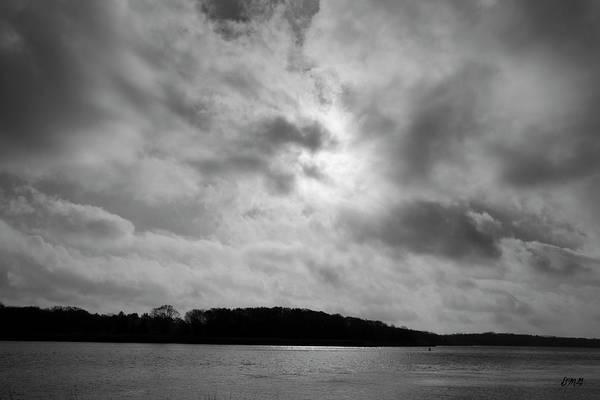 Photograph - Sun And Clouds Taunton River by David Gordon