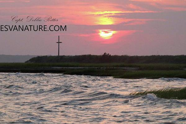 Photograph - Sun And Cross by Captain Debbie Ritter
