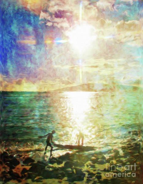 Wall Art - Photograph - Sun And Sea Hawaii by Jerome Stumphauzer