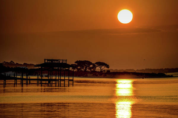 Photograph - Sun And Water Patterns by Michael Thomas