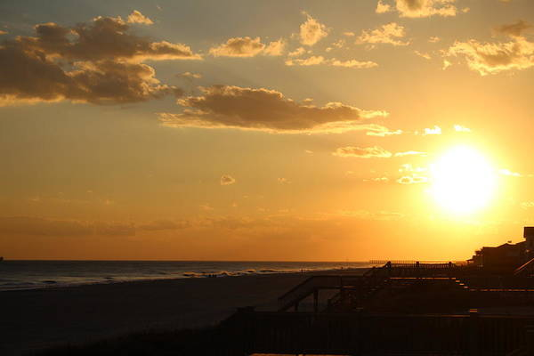 Photograph - Sun At Holden Beach by Cynthia Guinn