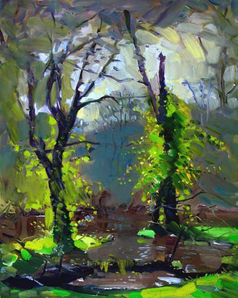 Sun Painting - Sun Ater Rain by Ylli Haruni
