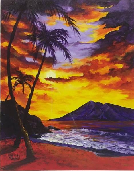 Painting - Sun Burst 2 by Darice Machel McGuire
