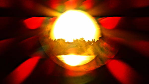 Photograph - Sun Burst by Eric Dee