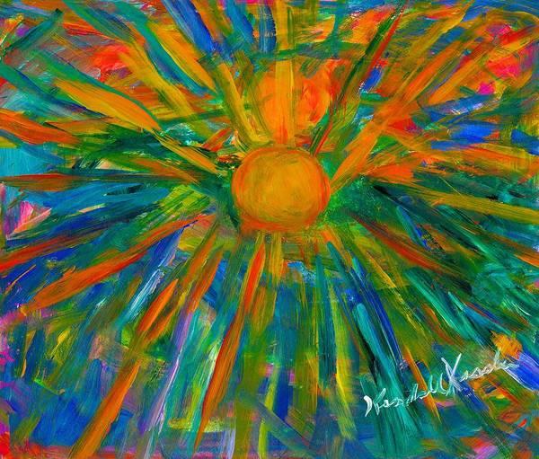 Painting - Sun Burst by Kendall Kessler
