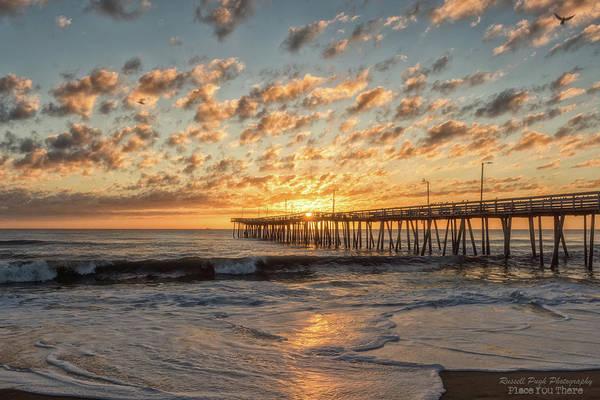 Photograph - Sun Burst by Russell Pugh