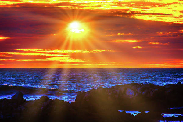Wall Art - Photograph - Sun Bursting Through The Clouds by Garry Gay