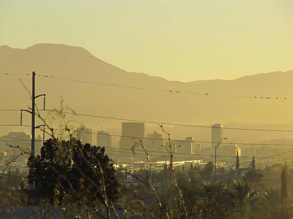Downtown El Paso Photograph - Sun City by Nicholas Haddox