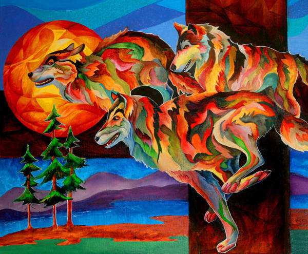 Painting - Sun Dance by Sherry Shipley