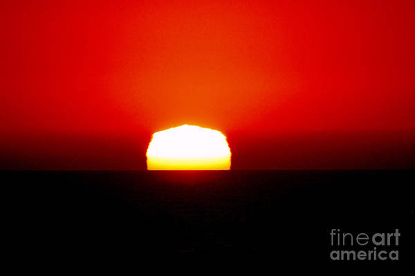 Photograph - Sun Dipping by Mark Jackson