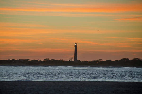 Photograph - Sun Dreanched Skies At Cape May Lighthouse by Bill Cannon