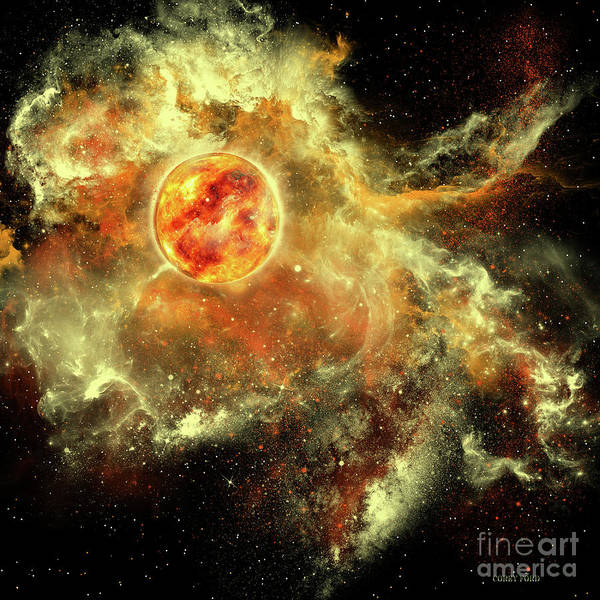 Wall Art - Painting - Sun Evolution by Corey Ford