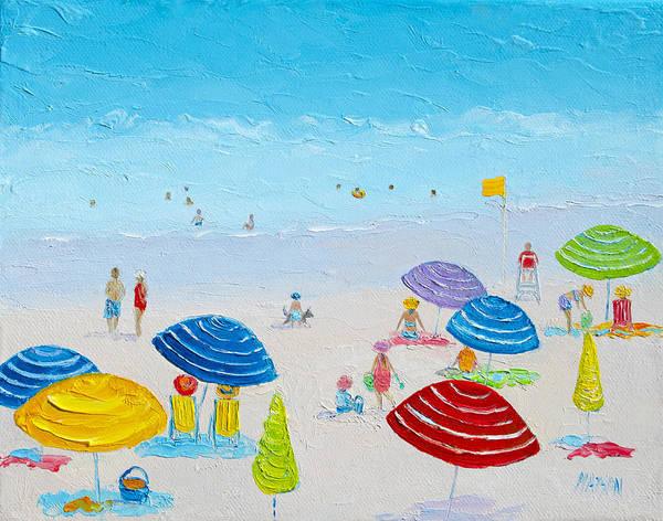Wall Art - Painting - Sun Filled Day by Jan Matson
