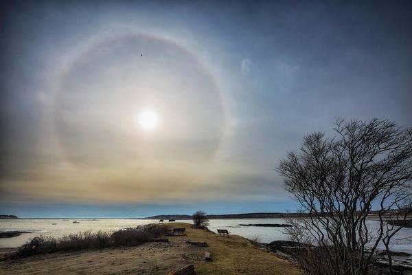 Photograph - Sun Halo by Robert Clifford