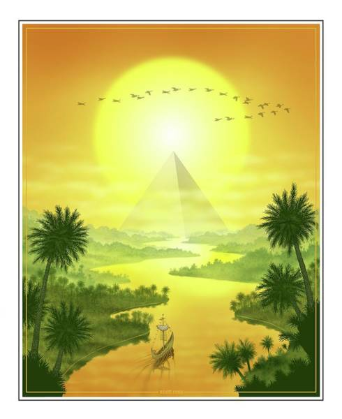 Digital Art - Sun King by Scott Ross