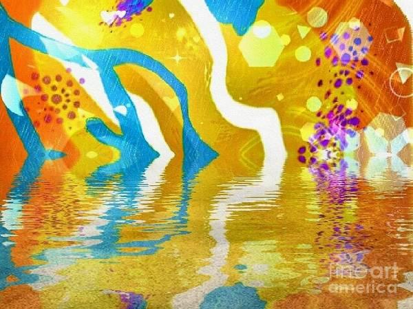 Digital Art - Sun-lit by Kathie Chicoine