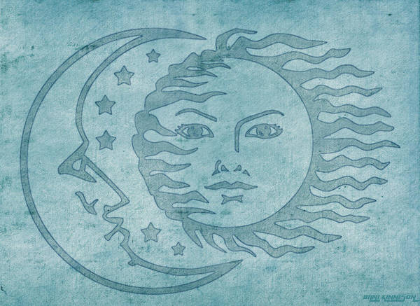 Wall Art - Tapestry - Textile - Sun Moon And Stars by Little Bunny Sunshine