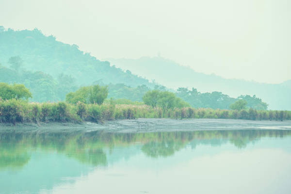 Photograph - Sun Moon Lake Pastels by Shuwen Wu