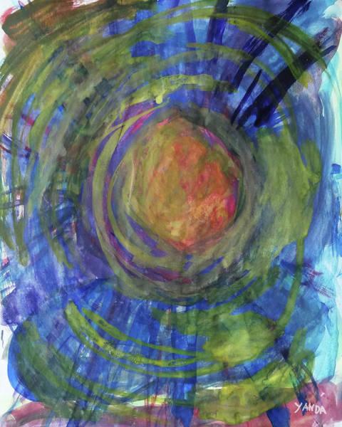 Mixed Media - Sun Of Color by Katt Yanda