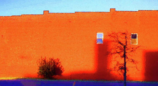 Digital Art - Sun On Brick Seurat Influence by Denise Beverly