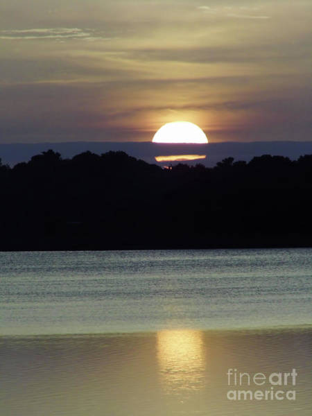 Photograph - Sun On The Lake by D Hackett