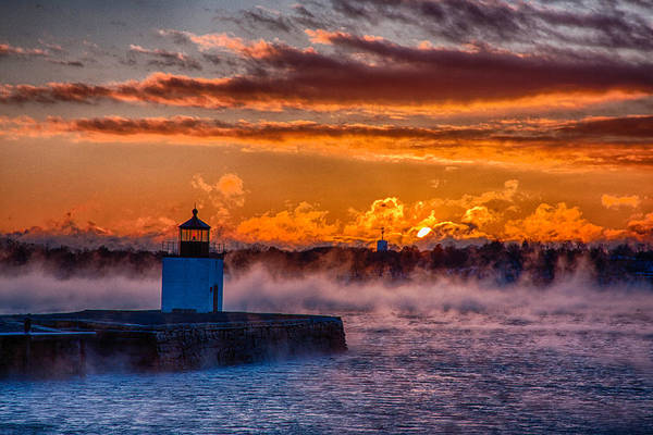 Photograph - Sun Peeking Over by Jeff Folger