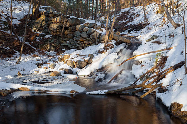Photograph - Sun Poked Waterfall by Brian Hale
