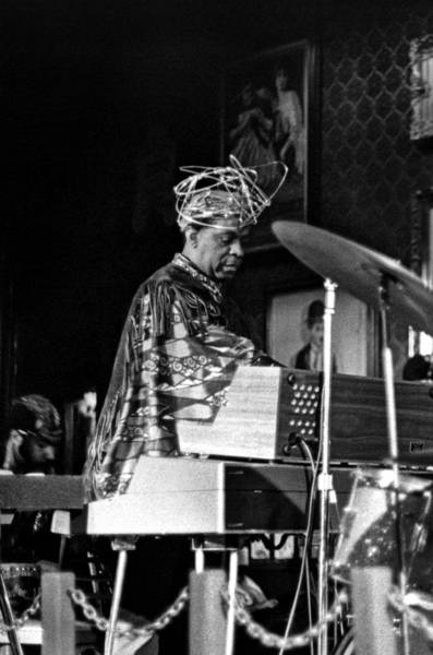 Photograph - Sun Ra 2 by Lee Santa
