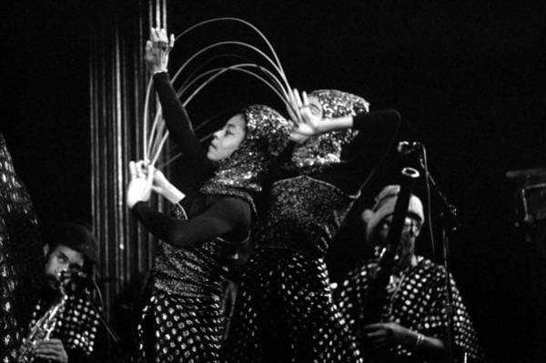 Photograph - Sun Ra Arkestra And Dancers by Lee Santa