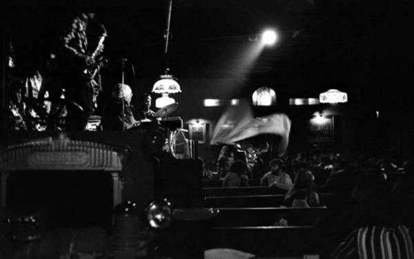 Photograph - Sun Ra Arkestra At The Red Garter 1970 Nyc 17 by Lee Santa