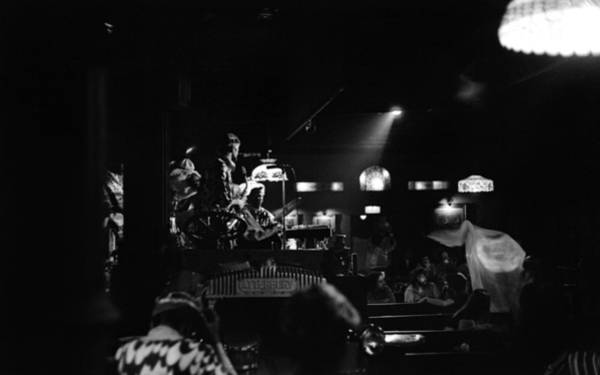 Photograph - Sun Ra Arkestra At The Red Garter 1970 Nyc 20 by Lee Santa