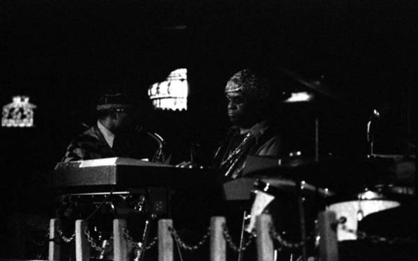 Photograph - Sun Ra Arkestra At The Red Garter 1970 Nyc 26 by Lee Santa