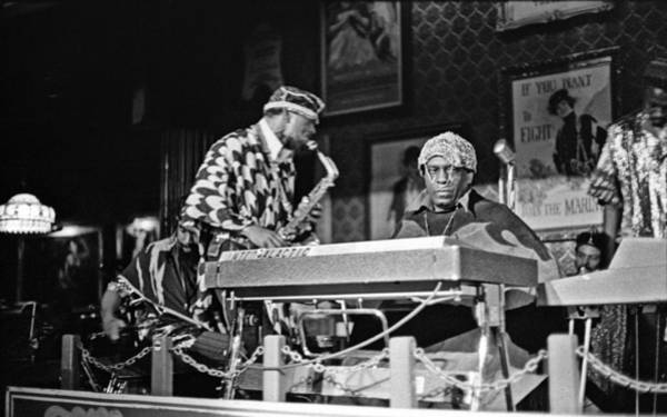 Photograph - Sun Ra Arkestra At The Red Garter 1970 Nyc 3 by Lee Santa