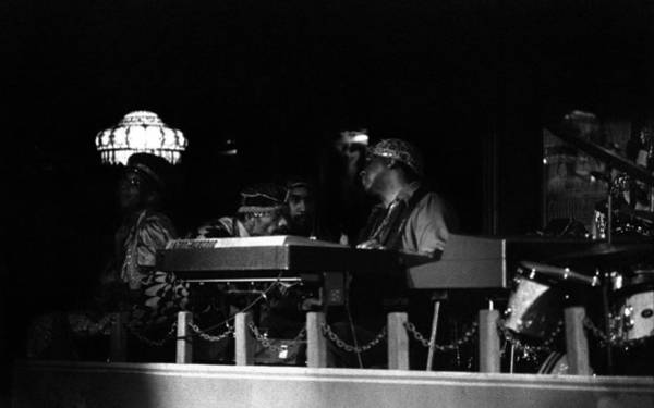 Photograph - Sun Ra Arkestra At The Red Garter 1970 Nyc 32 by Lee Santa