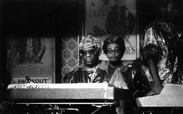 Photograph - Sun Ra Arkestra At The Red Garter 1970 Nyc 8 by Lee Santa