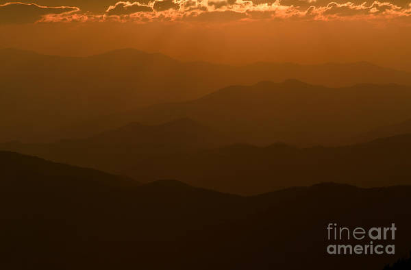 Photograph - Sun Rays At Sunset I by Clarence Holmes