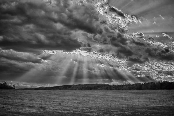 Photograph - Sun Rays Over Vann's Valley by Patricia Montgomery