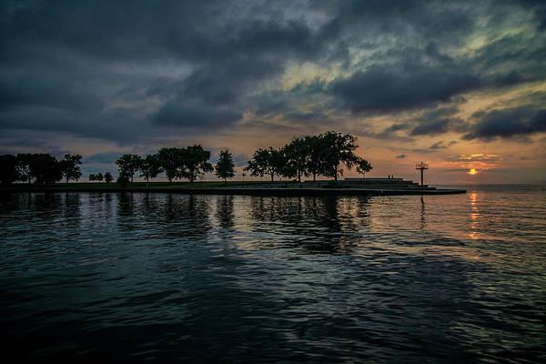 Photograph - Sun Rise On Chicago's Lakefront by Sven Brogren