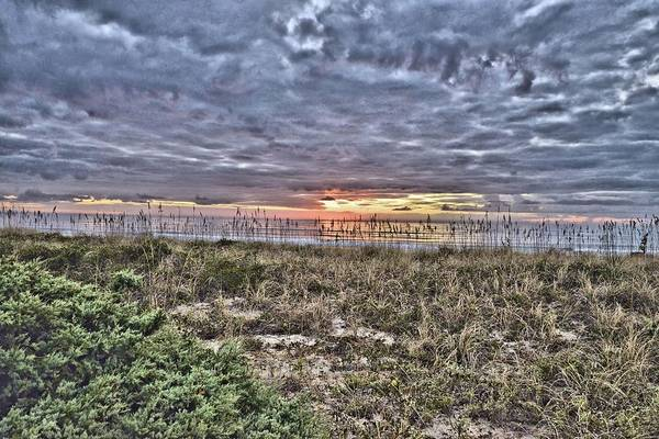 Photograph - Sun Rise On The Beach by Bill Hosford