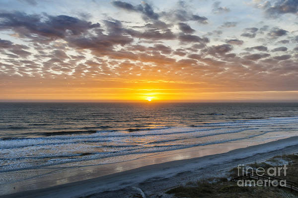 Wall Art - Photograph - Sun Rising Over Atlantic by Elena Elisseeva