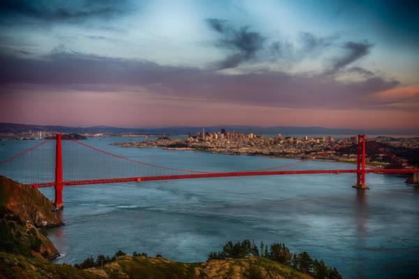 Wall Art - Photograph - Sun Set On San Francisco by Paul Freidlund