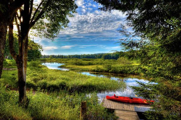 Photograph - Sun Setting On The Kayak by David Patterson