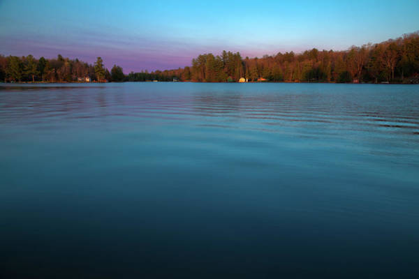 Photograph - Sun Setting On The Pond by David Patterson